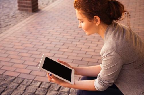 Videosamtal med psykolog via iPad