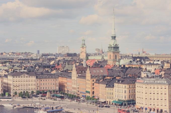 Stockholm har utsatts för terrorattack